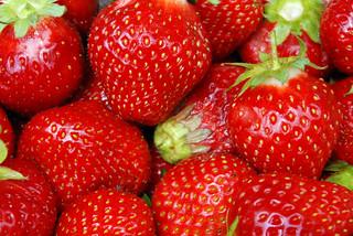 Las famosas fresas de Aranjuez.