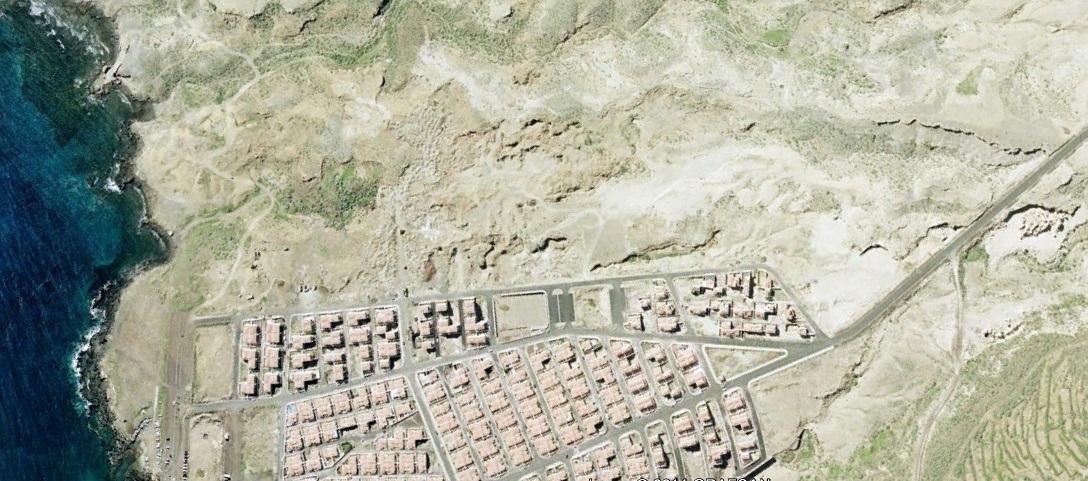 antes, urbanismo, foto aérea, desastre, urbanístico, planeamiento, urbano, construcción, Abades, Tenerife