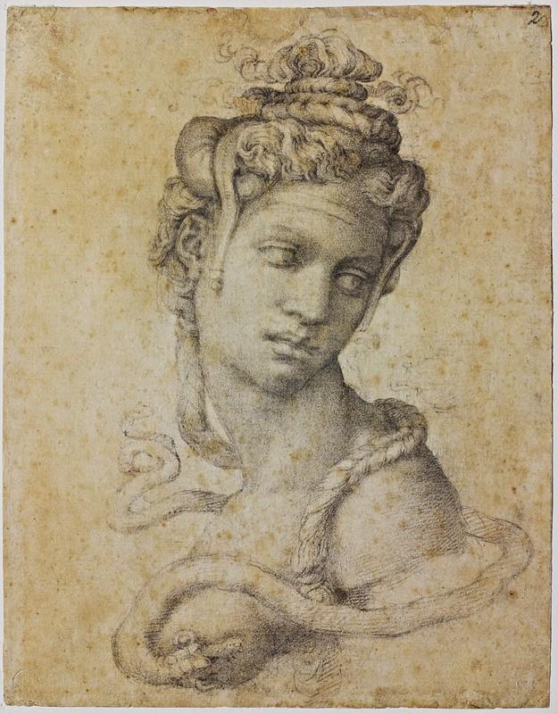 Michelangelo Buonarroti - Cleopatra (c.1532)