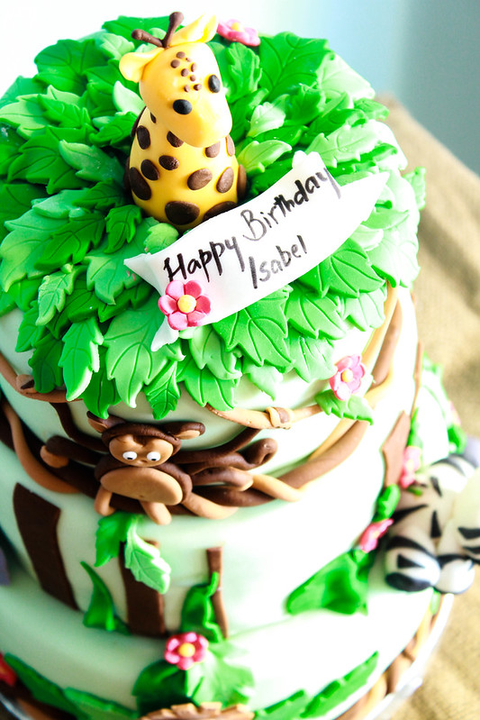 Safari themed Birthday Cake