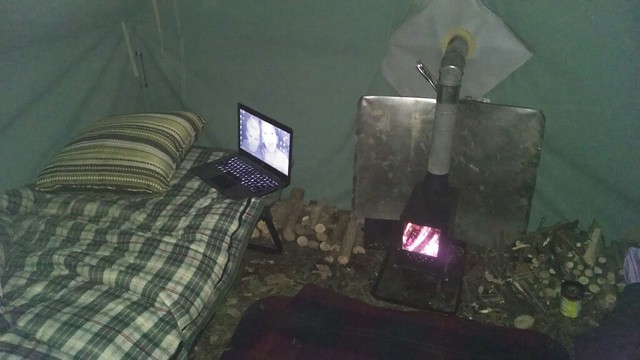 [ IMG] & DIY winter shelters/hot tents and wood stoves   Bushcraft USA Forums