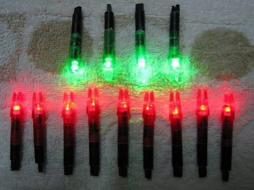 12pcs Red Lighted Nocks for sale - Arrows, Vanes, broadheads and arrow building components