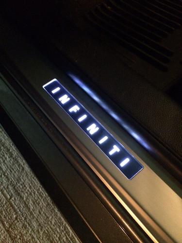 diy g37 sedan illuminated door sill installation myg37. Black Bedroom Furniture Sets. Home Design Ideas