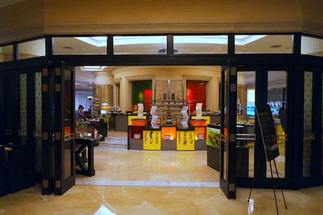 The Latest Recipe restaurant entrance on the fifth floor of the Le Meridien hotel