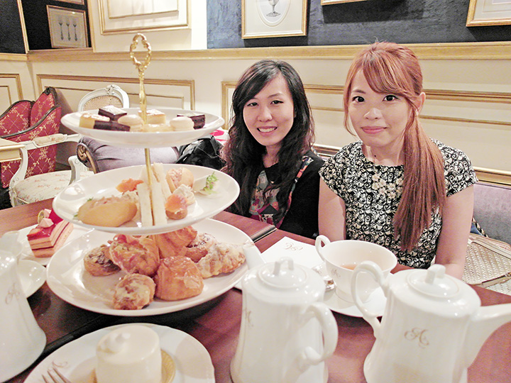 ting and kx high tea
