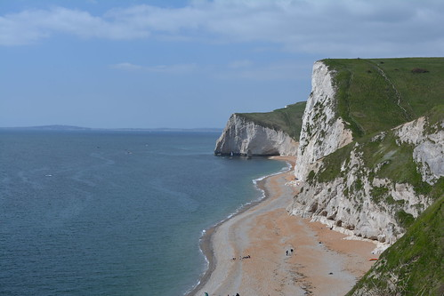 The South West Coast Path and White Cliffs