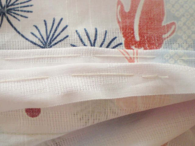 Yukata Stitching Close Up