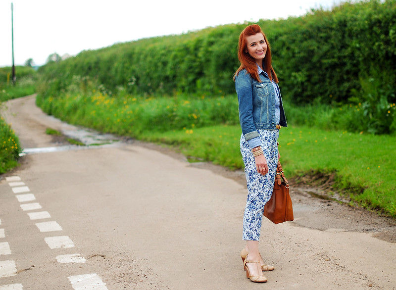Denim, gingham & florals