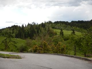Afbeelding van Predjama Castle in de buurt van Bukovje. trip europe slovenia postojna 2014