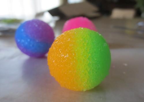 Homemade superballs
