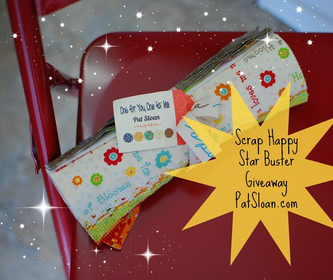 pat sloan scrap happy star buster giveaway
