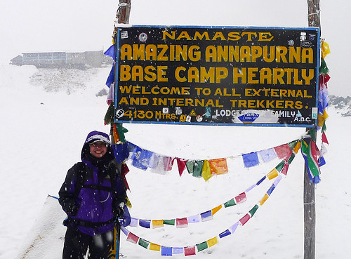 At Annapurna Base Camp