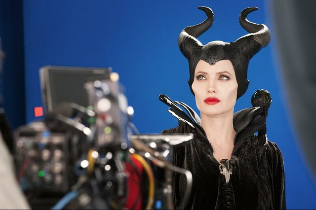 Angelina in Maleficent