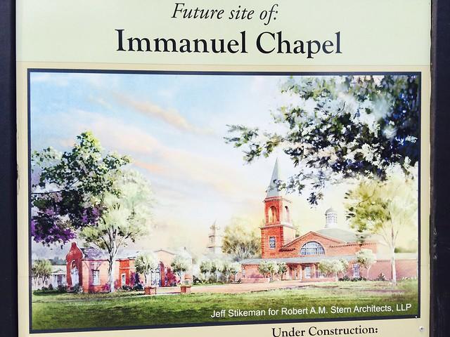 Virginia Theological Seminary Chapel Progress - June 8, 2014