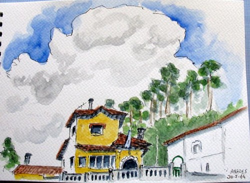 La nube. Asturias (Spain)
