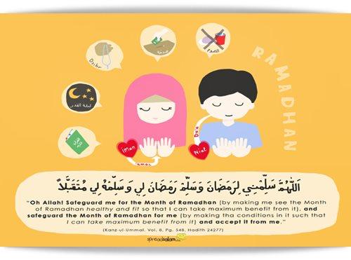 Ramadhan Al Mubarak | Moga Tawadduk