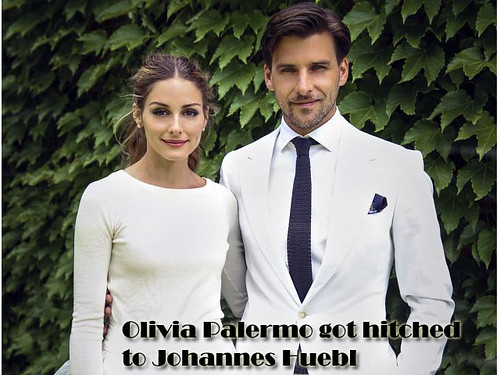 Olivia Palermo got hitched to Johannes Huebl