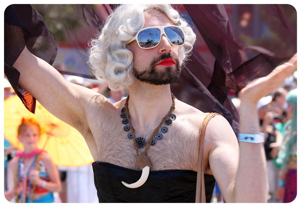 coney island mermaid parade 2014 marilyn