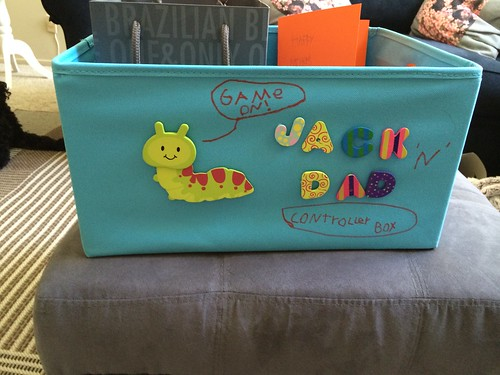 Jack's gift to Dad