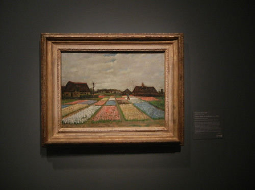 DSCN1845 _ Flower Beds in Holland, ca. 1883, Vincent van Gogh, National Gallery of Art at Legion of Honor