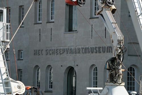 Museo Navale Olandese: il nome sulla facciata