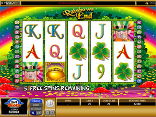 Rainbows End Free Spins