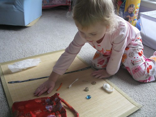 Montessori Mystery Bag (Photo from Montessori Messy)