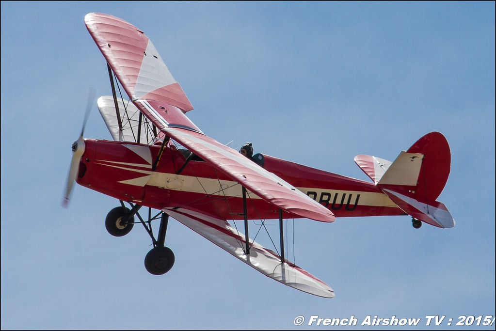 Stampe SV-4A, F-BBUU, Fly in LFBK 2015 - Fly in Saint Yan 2015, Meeting Aerien 2015