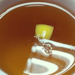 #tea #cleartea #lemon