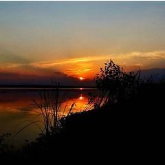 O Astro Rei embelezando o rio Tietê em Itapura (SP), como mostra o inspirado click de Marcello Toldi...  #aplausoblogauroradecinema  #blogauroradecinemaaplaude  #sunset #sunsetlover #igers #igerssp #igerssaopaulo #hoy #olhar_brasil #poesiadaimagem #sunris