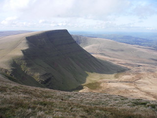 Picws Du, from Fan Foel