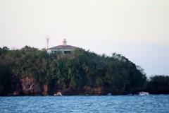 Siete Pecados Island's Lighthouse