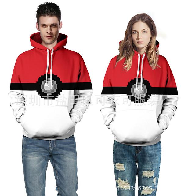Áo hoodie Pokeball - Pokemon