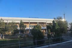 Qiziltepa train station, Uzbekistan