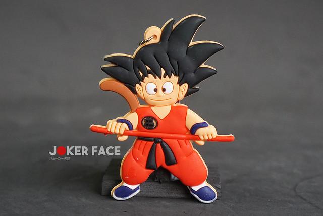 Móc khoá cao su Goku bé - Dragon Ball