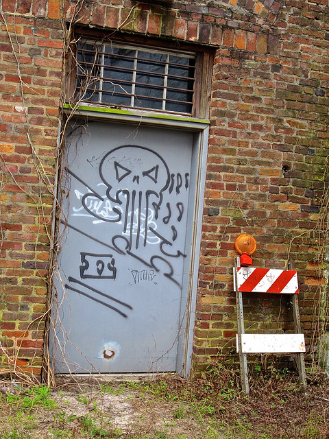 Graffiti Door, Augusta, GA