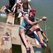 joyriding on half-built bridge by mustardgreen