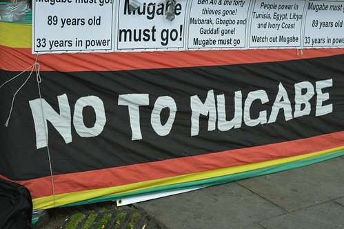 No to Mugabe