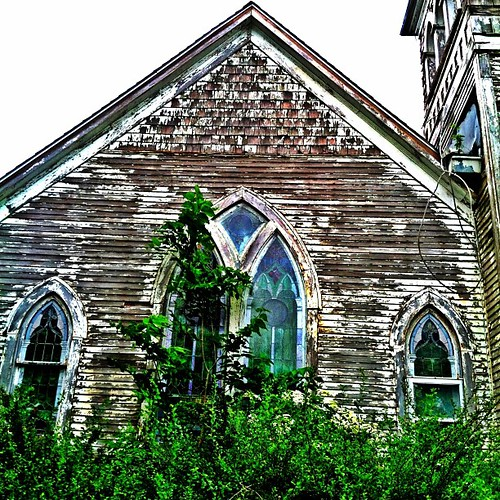 #old #church #country #urbana #illinois #decay #ruin