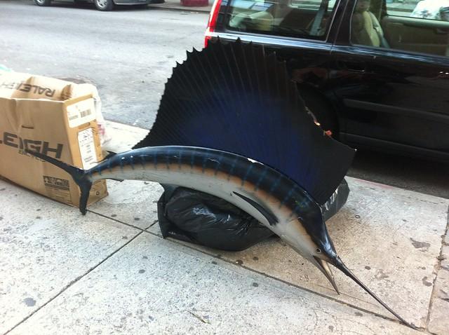 Garbage, East 3rd Street style.