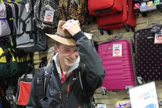 Paul-Henri Callewaert sporting the classic Australian slouch hat