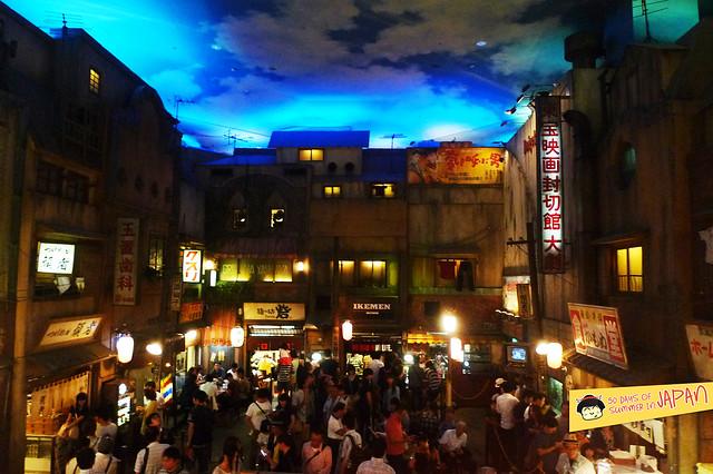 Ramen Museum Tokyo - interior 6 - Shinyokohoma Raumen Museum