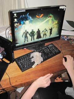 Dust Mite gamer