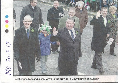 17th March 2013 at the St Patricks day Parade