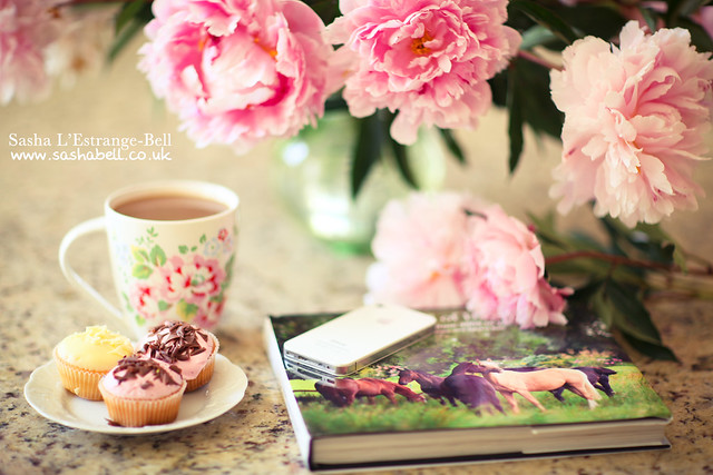 Cupcakes, Coffee and Peonies - Day 288/365