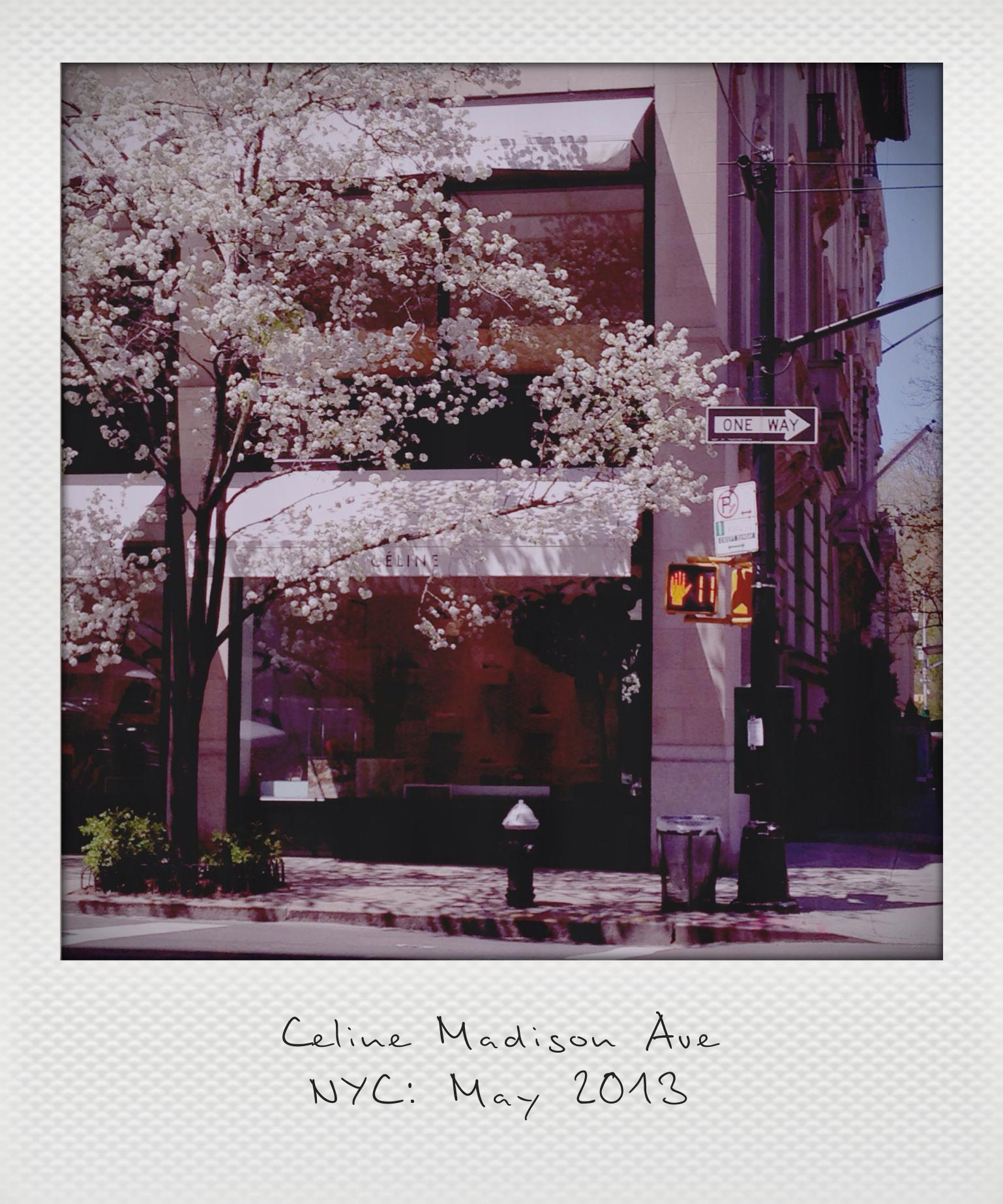 Celine Madison Ave_instant
