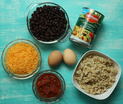 ingredients for southwest casserole
