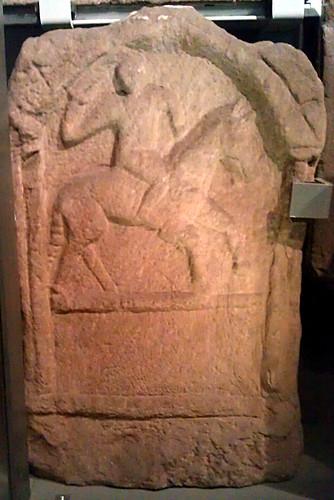 Asturian cavalrymen's tombstone