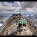 Uranostinden - At the summit by vegarste