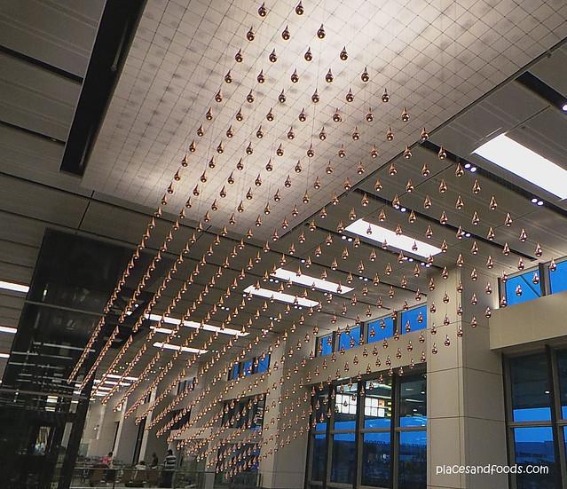 kinetic rain changi terminal one